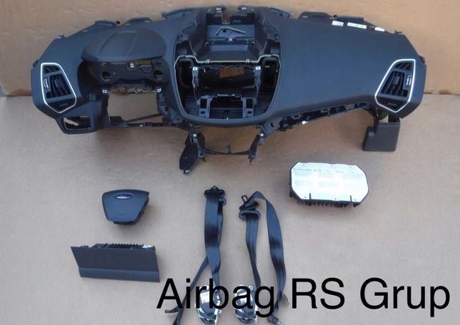 Ford Fiesta MK2 Kuga tablier airbags cintos