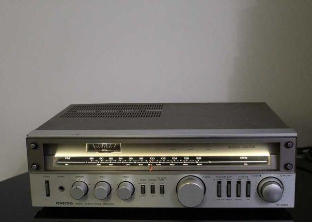 ONKYO TX-2000 Amplituner wzmacniacz stereo hi-fi audiofilski Wysyłka