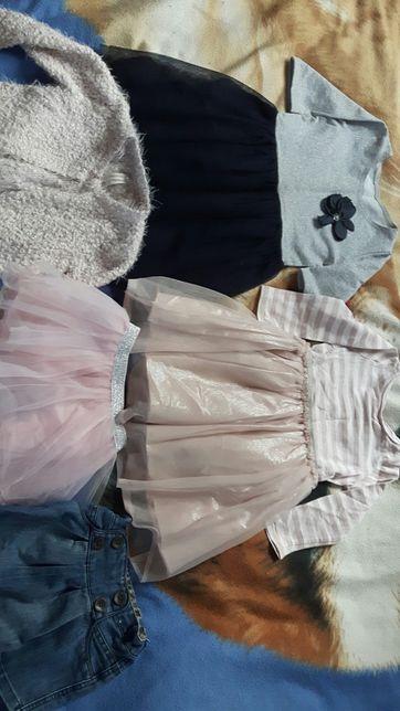 Sukienki, spódniczki i bolerko