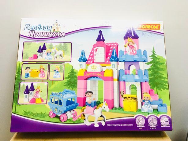Конструктор для девочки Полесье (аналог LEGO DUPLO)