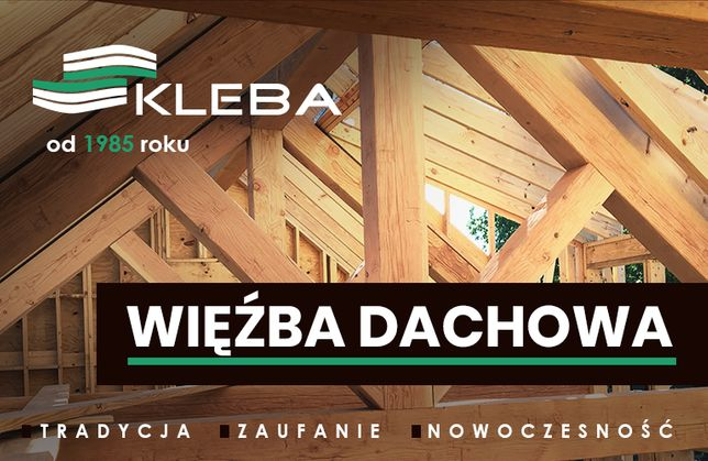 Konstrukcje dachowe - WIĘŹBA - Belki - Impregnacja - Transport