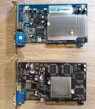 Раритетна відеокарта AGP GeForce 4 MX440