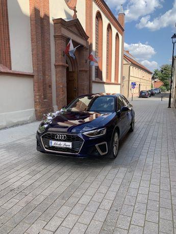 Auto do ślubu Audi