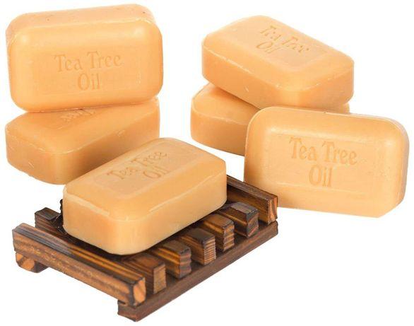 6 Sabonetes Organicos da Arvore do Chá
