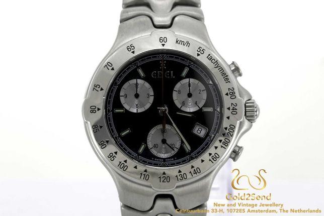 Коллекционный швейцарский хронограф Ebel SportWave E 9251641