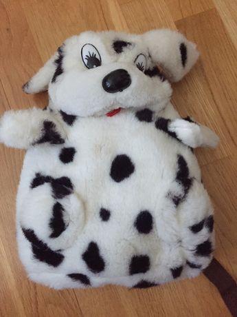 Рюкзак-игрушка детский из искусственного меха
