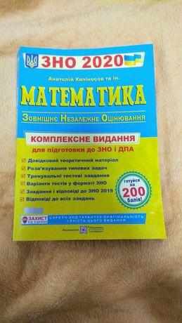ЗНО математика 2020 Капіносов