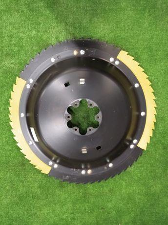 Rotor nożowy z nożami bęben kemper plus 345, 360, 375 talerz