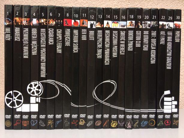 Kolekcja Filmów Wszechczasów DVD (22 tomy z książką)