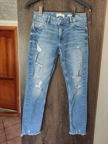 Jeansy spodnie jeansowe Boyfriendy House