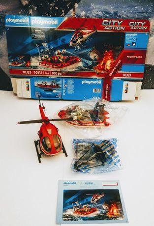 Playmobil 70335 Jednostka straż pożarna helikopter.