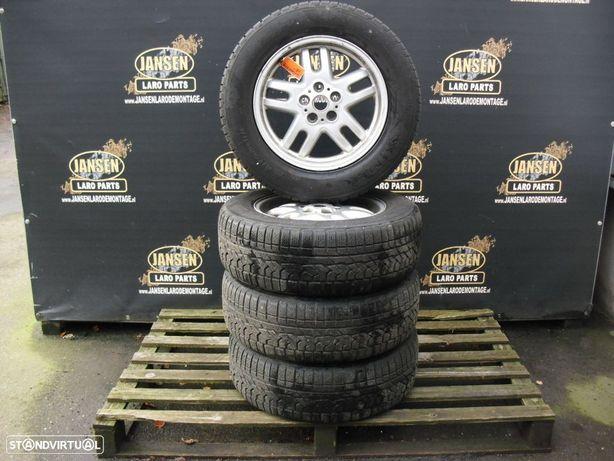 "range rover L322 jantes + pneus KUMHO 255x60xR18"""