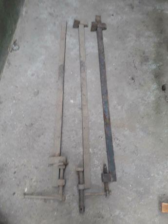 Стяжки использовались в столярном деле