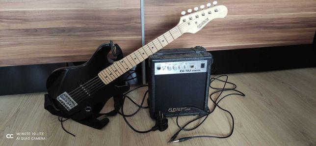 Gitara Elektryczna ELEVATION JUNIOR + Wzmacniacz
