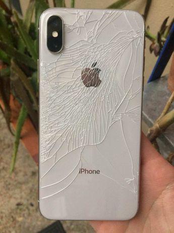 Substituição de vidro traseiro iPhone 8 8 plus x xs XR 11 12 pro