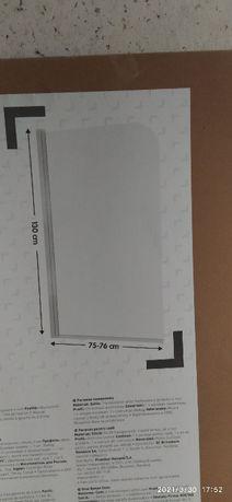 Parawan nawannowy AKRELL 130 x 75 cm