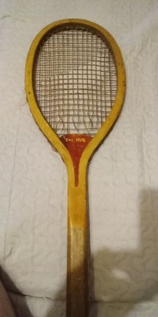 Rakieta tenisowa,do 1900r,Wright & Ditson Championship Hub,Patent,USA