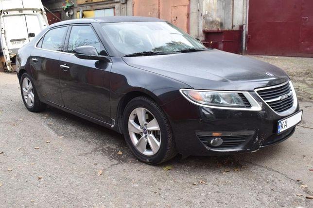 Saab 9-5 2011 после незначительного дтп