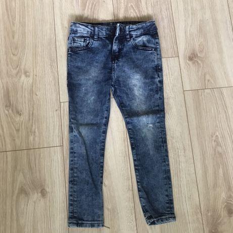 Spodnie chłopiece Zara 110