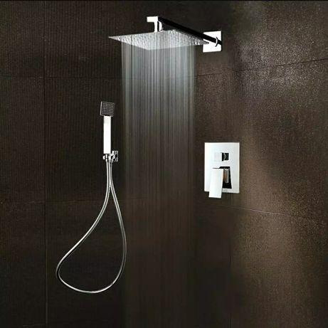 Chuveiro e duche embutido novo moderno