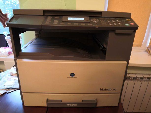 Minolta bizhub 163 ксерокс