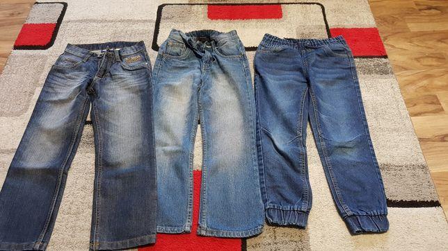 Spodnie chłopięce 122/128