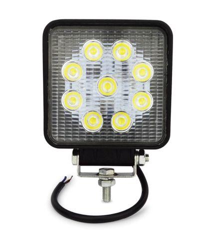 Faróis LED quadrados 27w