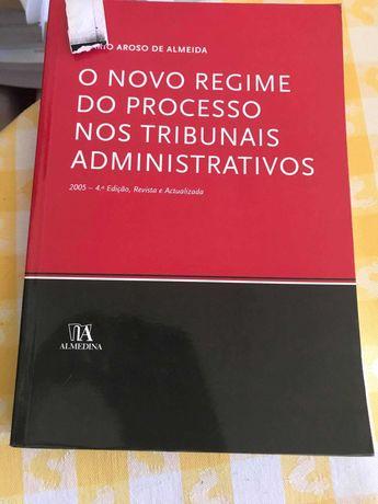 Livro O Novo Regime do Processo nos Tribunais Administrativos