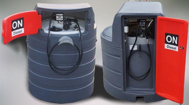 Zbiornik dwupłaszczowy na paliwo olej napędowy 1500L - 2500L