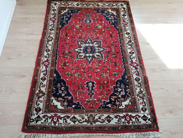 Piękny orientalny ręcznie tkany indyjski dywan z prowincji Maschad