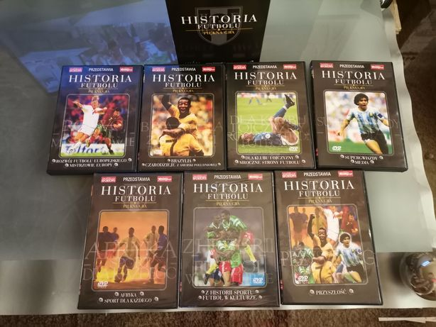 Kolekcja płyt DVD, Historia Futbolu