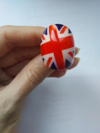 Каблучка (кольцо), британський прапор, Юніон Джек