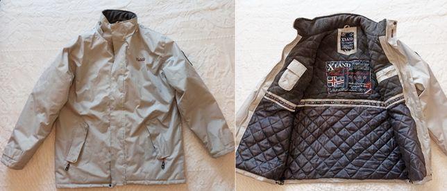 Camisas, casacos, calção