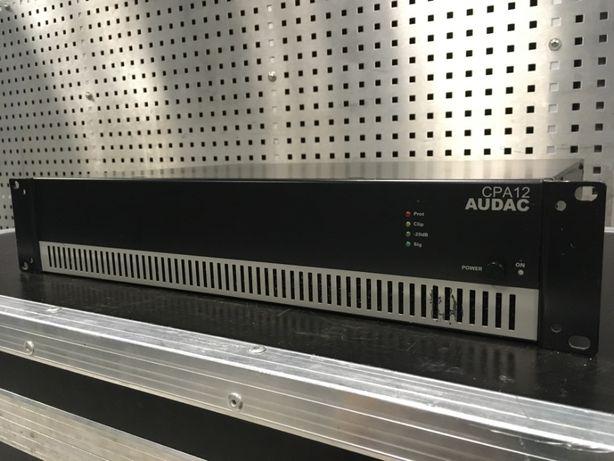 Wzmacniacz, końcówka mocy Audac CPA12 - 120W, zasilanie 230 i 24V