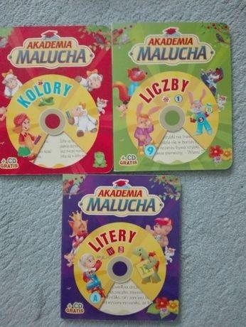 3 x książeczka z płytą CD do nauki
