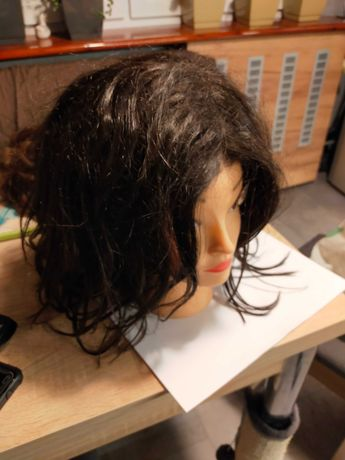 Peruka naturalne włosy