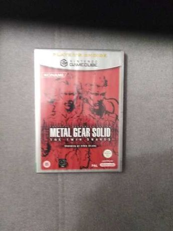 Metal Gear Solid The Twinks Snakes Gamecube