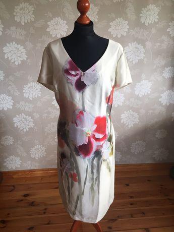 Sukienka 48 Carla Canta, Duży rozmiar, Nowa z metką, 95% wiskoza