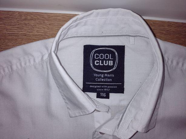 Koszula biała cool club smyk 116