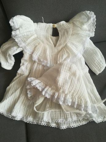 Sukienka do chrztu nowa r. 68