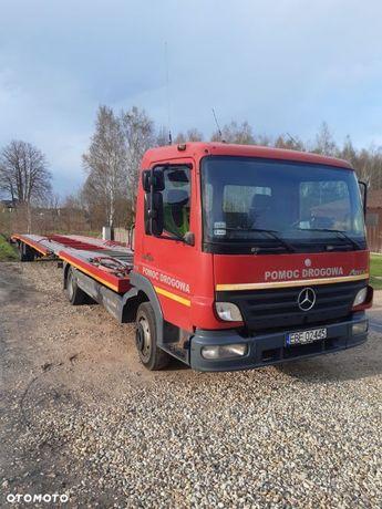 Mercedes-Benz 818  Mercedes Benz 818 Specjalny + przyczepa, Pomoc drogowa, autolaweta