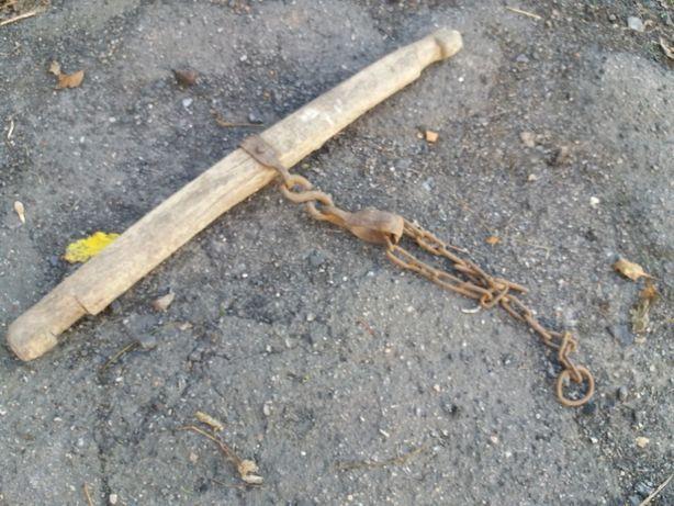 Барки дерев'яні під однокінку, для кріплення с/г знаряддя.