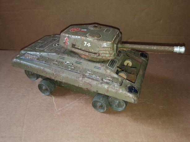 Tanque de guerra brinquedo chapa antigo