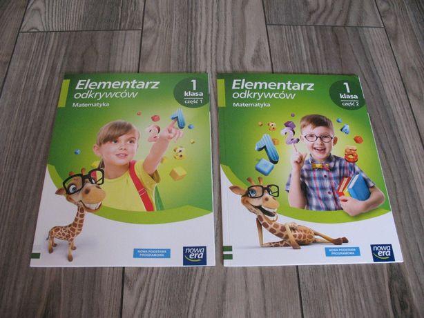 Elementarz odkrywców. Matematyka. Podręcznik klasa 1 – część 1,2