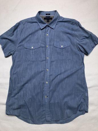 Tommy Hilfiger koszula męska krótki rękaw XL