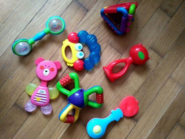 игрушки, погремушки для новорожденных