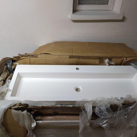 Umywalka 120x40 pod szafkę