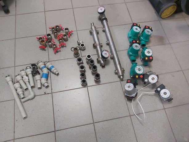 Продам насосы отопления wilo со всем оборудованием.Торг