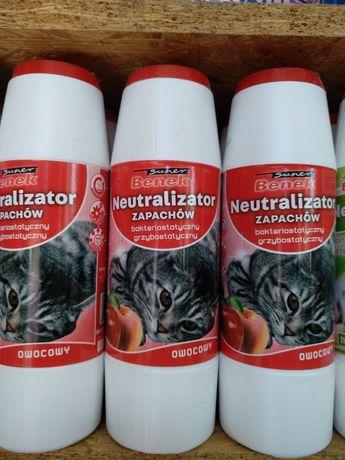 Neutralizator BENEK o zapachu owocowym. Opakowanie 500g
