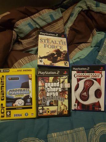 Ps2  vários jogos pack